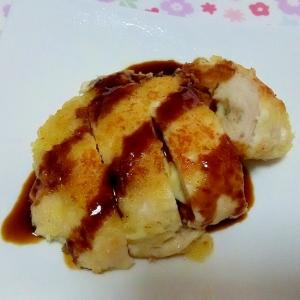 ハムチーズ入りチキンカツ++