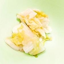 白菜のポン酢和え
