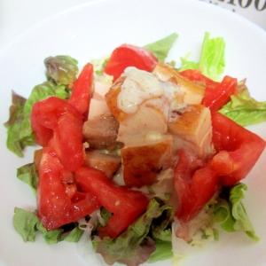 玉ねぎヨーグルト★チキンとトマトのサラダ