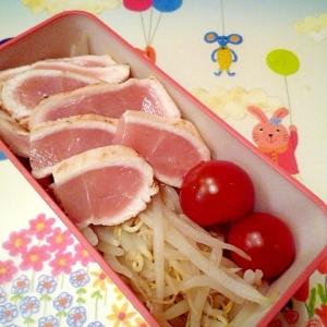 鶏のたたきサラダ♪