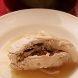 胸肉で♪サムゲタン風スープ