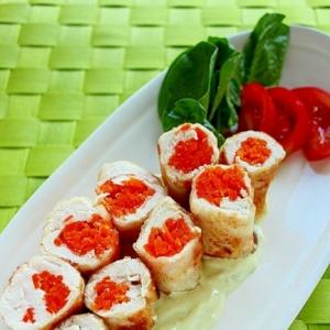 菌活レシピ☆鶏ささみの塩麹アボカドヨーグルトソース