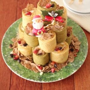 【クリスマス】オールブランロールケーキ