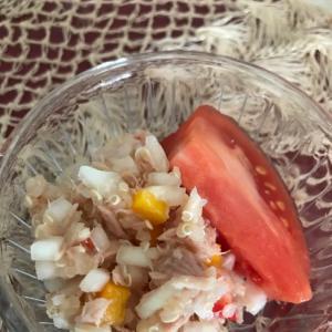 ツナとキヌアのサラダ