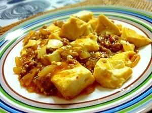 手間なし麻婆豆腐