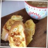 フランスパンdeフレンチトースト٩( ᐛ )و