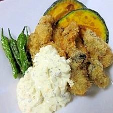 揚げにコツ☆ 牡蠣料理一番人気の「カキフライ」