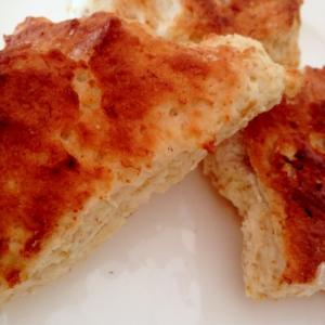 トースターで作る、バナナスコーン風パン☆彡