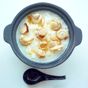乾燥帆立の中華粥