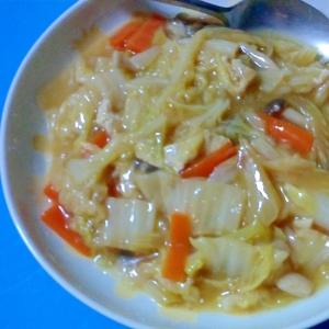 白菜とセロリの中華煮