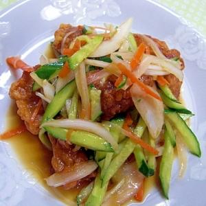 酢豚風サラダ