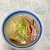 ♡千切り野菜のお味噌汁♡