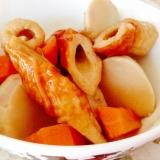 麺つゆで♡簡単♡里芋と竹輪の煮物
