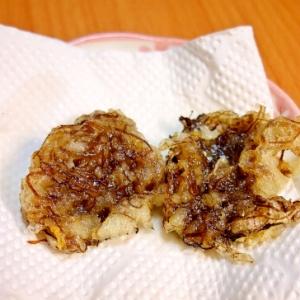5分で作れる!沖縄風もずくの天ぷら