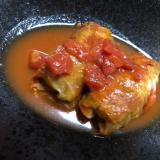 トマト煮込みのロールキャベツ