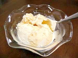 大人のデザート☆アマルーラがけアイスクリーム
