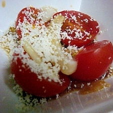 ミニトマトのチーズマリネ