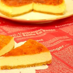 絶妙のコクとなめらかさ☆ニューヨークチーズケーキ