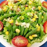 香り豊か☆茗荷とセロリのグリーンサラダ♪