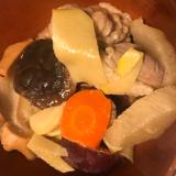 タケノコとサツマイモの筑前煮