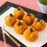かぼちゃの茶巾 Chakin Shibori