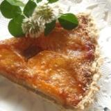 秋のティータイムに☆フレッシュ柿のパイ