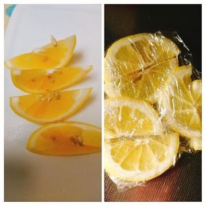 レモンの切り方と冷凍保存