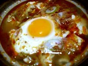 しじみのズンドゥブ(豆腐のスープ)風