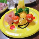 ツリーサラダ♡