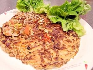 低カロ高タンパク★低価格★納豆とモヤシのチジミ