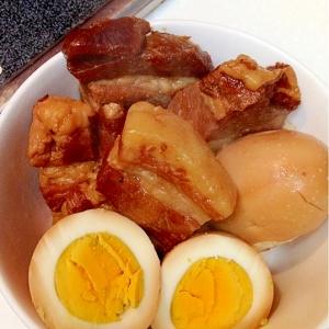 【糖質制限】圧力鍋で♪ラカントSで甘辛♪豚の角煮