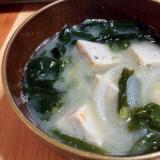 魚のつみれの味噌汁