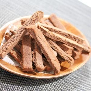小麦ふすまの低糖質ビスコッティ