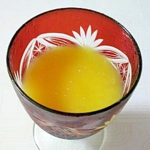 休日のおやつに♪大人のオレンジ白ワインゼリー