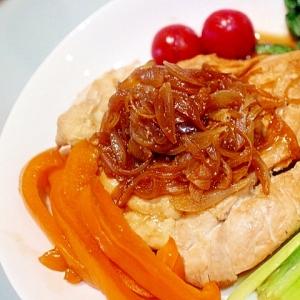 超簡単ヘルシー♪鶏むね肉の野菜たっぷりワンプレート