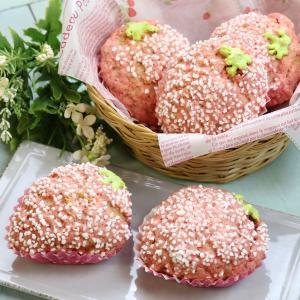 苺メロンパン