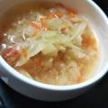 塩糀スープの素で★ソーセージ&豆&野菜スープ★