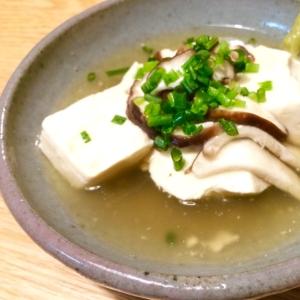 豆腐の和風きのこあんかけ