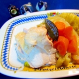 熟成鶏とたっぷり野菜の煮込み