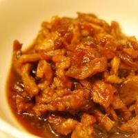 豚肉と玉ねぎのピリ辛佃煮