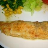 鮭のガーリックムニエル