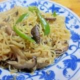 麺つゆで簡単~しらたき・豚ばら肉野菜の麺つゆ炒め煮