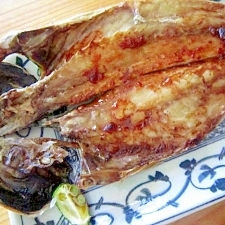 ∝胡麻油焼き鰺コチュジャン味∝