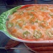 山芋と豆腐のグラタン