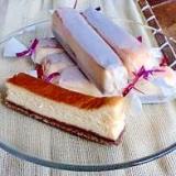 バレンタインにホワイトチョコチーズケーキ