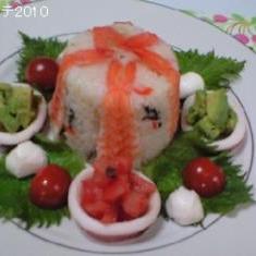 アラ還雛散寿司(35年連れ添いラブラブです^^)