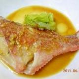 赤魚の中華蒸し