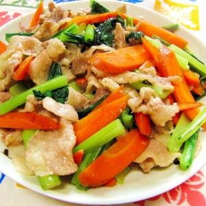 味つけ簡単!「小松菜」が主役の献立