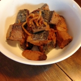 余った鰹のタタキで☆かつおの生姜煮
