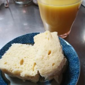おからパウダーとヨーグルトの蒸しパン